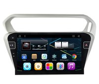 """Wholesale Mobile Dvd Player Rca - 9"""" Android 6.0 System Car Radio Player For Citroen Elysee Peugeot 301 GPS Navi BT Mirror Screen RCA USB SWC WIFI 4G OBD DVR No Car DVD"""