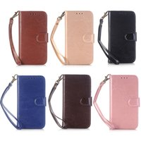 Wholesale horse skin wallet for sale – best For iphone X PU Leather Wallet Case Card Holder Crazy Horse Leather Skin for iPhone X Plus
