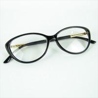kadın için optik çerçeve toptan satış-Kedi gözü Özlü Kavisli Şekil Optik Çerçeve Kadın Aşk Moda Gözlük Dekorasyon Optik Çerçeve Moda Tasarım Gözlük Çerçeve