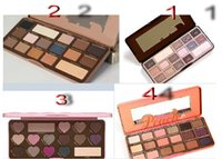 Wholesale Mix Palette - free shipping DHL HOT new makeup MIX chocolate bar  semi-sweet   bonbons  Sweet Peach eyeshadow palette with taste