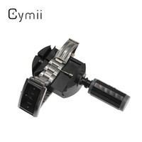 Wholesale Wrist Watch Strap Tools - Wholesale-Cymii Wholesale New Watch Wrist for Band Strap Link Pin Remover Adjustable Tool with 3 Extra Pins Watch Repair Tool Kits