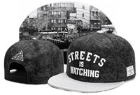 Wholesale Watch Cap Black - 2017 New Arrivals Cotton Cayler & Sons STREETES IS WATCHING BKNY Snapback Hats Casual Gorras Sport Hip Hop Man Women Brand New Baseball Caps