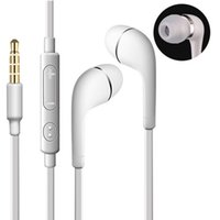 Wholesale headphone for s5 for sale - Group buy A J5 Stereo Earphone mm In Ear flat noodle Headphones Headset with Mic and Remote Control for Samsung Galaxy S3 S4 S5 S6 Note