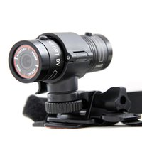 Wholesale Smallest Cmos Camera - Wholesale-NEW F9 FULL HD 1080P Small Sport Action Helmet Camera DV DVR Sport CAM CMOS extreme sport Camcorder aluminum