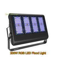Wholesale Marine Flood Lights - 200W 250W RGB LED Boat Flood Light Marine LED Flood Light LED Fishing Lighting Green Blue Red White Outdoor Garden Lamp