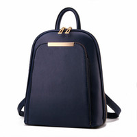 Wholesale Back Bags For Girls - Wholesale- Women backpacks for teenage girls school bags 2017 High Quality New Youth back pack famous designer backpack women brand
