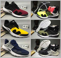 Wholesale Cargo Air - 2017 Acronym X Air Presto Mid Low Cut Running Shoes Trainers Lab zipper Black-bamboo Lava olive cargo green Sports Sneakers 40-45