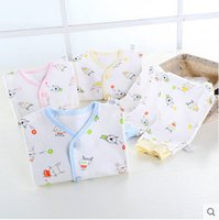 Wholesale Baby Products Brands - 2017 he newborn baby clothes cotton summer gift set 0-3 month full moon baby newborn baby products