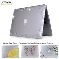 Wholesale China Laptops Book - Laptop Case For Mac book Air 11 12 13 Pro 13 Frosted Matte Hard Case Cover For MacBook Pro 13.3 with Retina