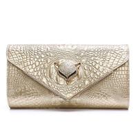 Wholesale Vintage Rhinestone Clutch - 2017 new Women Genuine leather clutch bags evening shoulder handbags fashion obag purses designer bolsos mujer bolsas feminina