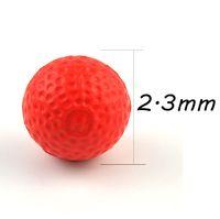 Wholesale Eva Machine - 100 pcs Compatible Gun Rounds Bullet Balls For Rival Zeus Apollo Refill Red Children's Day Gift