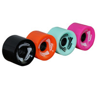 La rotella del pattino del longboard di alta resistenza della rotella 4pcs ruota 70mmx51mm per il pattino di bordo lungo Multicolore Wearproof