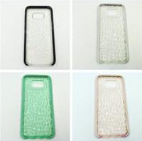 Wholesale Cheap Case Iphone Diamond - For Samsung s8 plus Case Evo Gem Impact Crystal Diamond Cases Ultra Thin Lightweight Soft TPU Case Cover for iphone 7 6s 6 plus s8plus Cheap