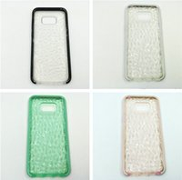 Pour Samsung s8 plus Evo Gem Impact Crystal Diamond Cases Ultra léger et léger Soft TPU Case Cover pour iphone 7 6s 6 plus s8plus Pas cher