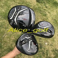 Wholesale Golf Clubs Fairway Woods - 2017 OEM quality golf driver 917 D2 driver 3#5# fairway woods with 917 Diamana 60 stiff graphite shaft 3pcs golf clubs