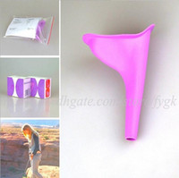 Wholesale Travel Urinals For Women - New Women Whiz Shewee Pez Piez Generic Portable Female Women Urinal Camping Travel Kits Urination Toilet Device Funnel For Lady Girl Ms Whiz