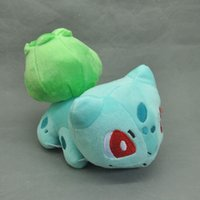 "Wholesale Wholesale Plush Toys Great Quality - Free Shipping EMS New Cute Bulbasaur Plush Figure Doll Trendy High Quality Toy 6"" Great for gift"