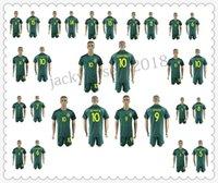 2018 brazil soccer jersey mens 10 neymar jr ronaldinho kaka pele 15 alves 11 coutinho oscar