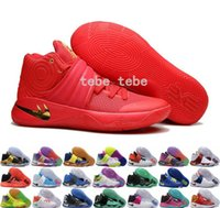 Wholesale Blue Silver Star - 2016 Newest Colors Kyrie Irving 2 Men Basketball Shoes Kyrie 2s Olympic BHM All Star Basketball Sneakers High Quality Shoes Free Shipping