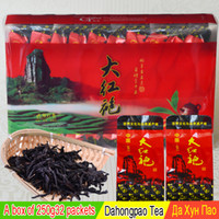 QS black tea varieties - big red robe beautiful varieties of chinese da hong pao oolong medical assistance in the original gift