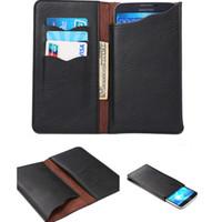 flip flip achat en gros de-Etui universel en cuir PU Flip Case étui en cuir Carte de crédit Pochette pour 4.3 4.8 5.5 5.7 Téléphone portable de 6,7 pouces iphone 7 plus 6s plus huawei