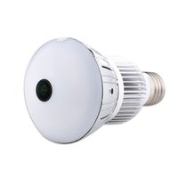 Wholesale panoramic dvr for sale - 5 MP Fisheye Panoramic bulb Camera HD WIFI Bulb Lamp DVR mini IP Camera Lamp DVR Motion Detection Video Recorder Home Security System