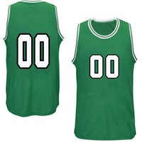 jerseys nombres al por mayor-Totalmente personalizado Su número de nombre del equipo Jersey Jersey personalizado Jersey de baloncesto bordado (todos los números de nombre cosidos)