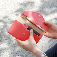 Wholesale Multi Function Women Fashion Wallet - Free mail 2017 men and women multi-function large capacity wallet wallet bag with a long bag of 4 colors
