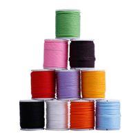nylon 1,5mm großhandel-10 teile / los mischfarbe 1,5 MM Nylonschnur nylon linie armband halskette DIY schmuck Kabel Draht