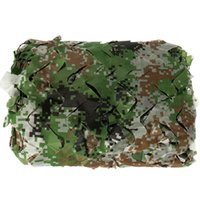 Wholesale 2x3m Camouflage Net - 2x3M Outdoor Camo Net for Hunting Covering Camping Wood lands Leaves Hide Sun Shelter Car-cover animal shooting kits