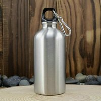 Wholesale Silver Aluminum Water Bottle for Ayurvedic Health Benefits With Ml Capacity Joint Free Leakproof Healthy Drinkware