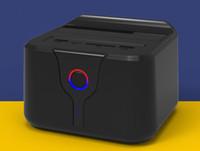 depolama için sabit disk toptan satış-Toptan-Plastik ssd dock usb 3 yerleştirme istasyonu wifi hdd muhafaza sabit disk sata harici sürücü depolama TF SD Kart okuyucu yerleştirme