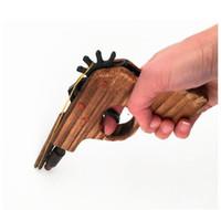 Wholesale Wood Toy Guns - New arrival kids toys wooden toy gun classic playing rubber band toy pistol guns interesting kids guns toys b773