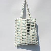 Wholesale Top Wholesale Shops - Wholesale- Canvas Green Womens Bags Tote shopping Female top-handle luxury designer shopping Bag handbags Famous Brands bolsa feminina