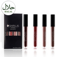 Wholesale Plumping Lip Gloss - LIQUID MATTE Four Color Lip Gloss beauty trend product 2017 lip plumper top quality makeup products lipquid kits