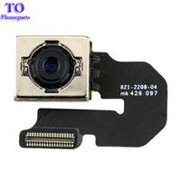 замена камеры iphone oem оптовых-OEM Задний модуль камеры Flex ленточный кабель для iPhone 6 Plus запасных частей
