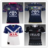 0368cd2ffb8 2017 Maillot New Zealand The Sharks Rugby Jersey 17 18 NRL National Rugby  League Cronulla Sutherland The Sharks Rugby Shirts S-3XL