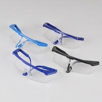gafas de ciclismo polarizadas amarillas al por mayor-Las ventas de fábrica de gafas a prueba de polvo a prueba de viento de molienda gafas de seguro de trabajo de seguridad de corte al por mayor