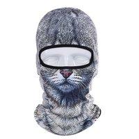 Wholesale Dog Veil - 2017 Hot Sale 2016 3D Cap Dog Animal Outdoor Sports Bicycle Cycling Motorcycle Masks Ski Hood Hat Veil Balaclava UV Full Face Mask