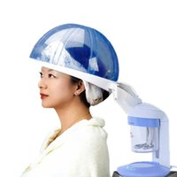 Wholesale Equipment For Hair Salon - Top quality Ozone Salon Hair Steamer & Facial Steamer for Hair & Face Care Aromatherapy SPA Hair Treatment Equipment 2 in 1 Steamer