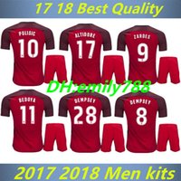 Wholesale Cheap National Team Soccer Jerseys - 17 18 adult kits Pulisic #10 National Team Red Soccer Jersey,2018 World Cup Jersey,Customized Soccer Cheap Soccer Jerseys Discount