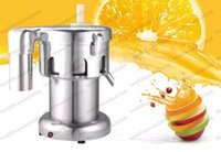 Wholesale Automatic Juice Machine - 2017 NEW Commercial Stainless steel Juice Extractor 220V 550W 2800r min juice volume:100-120kg hr Juicer Machine MYY