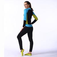 Wholesale Dry Suit Dive - female wetsuit plus size surf full body swimwear surf protect dry suit dive skin suit wet suit for swimming 2506087