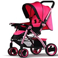 Wholesale Stroller Shock Absorbers - Baby Stroller Good Shock Absorbers High Chair 2 Pneumatic Wheel and 2 Wheel baby carriage Free Delivery M11