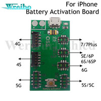 Wholesale Professional Battery activation tools for iphone s P plus SE Batteries test board with Micro USB Charge Cable