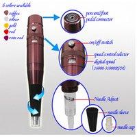 Wholesale Lip Grips - Body Art Grips 35000R Makeup Eyebrow Lips Pen grip Permanent Makeup Machine grip