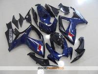 Wholesale K6 Fairing Kit - New Fairings kit Bodywork Fit For SUZUKI GSX-R750 GSXR600 GSXR750 06 07 GSX R600 R750 K6 GSX-R600 GSXR 600 750 2006 2007 Fairing nice blue
