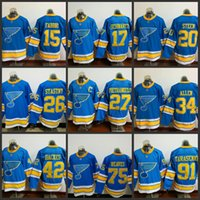Wholesale Paul Stastny - St. Louis Blues Mens 2017 Winter Classic Premier Hockey Jersey 91 Vladimir Tarasenko 20 Alexander Steen 26 Paul Stastny 27 Alex Pietrangelo