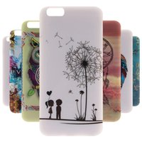Wholesale Cartoon Case Wholesale - 2017 Hot New Soft TPU 3D Cartoon Cute Pattern Cover Mobile Phones Case For Apple iPhone 6   6S 4.7-inch Shell Protective Cases
