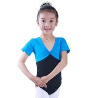 Wholesale Toddler Girl Ballet Leotards - Kids Girls Ballet Leotard Tutu Dress Toddler Skating Dancewear SZ 4-15 Years New
